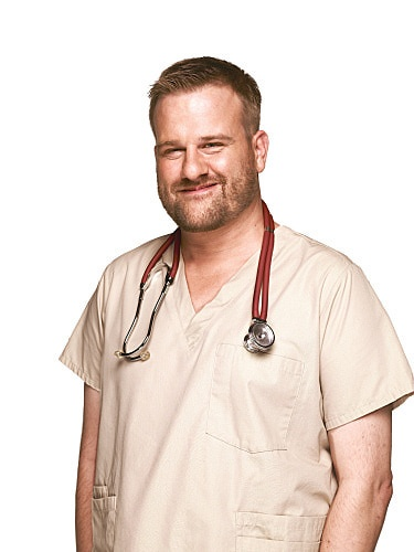 Nurse Greg will glower away your infirmity