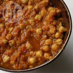 Photo de recette : Curry de pois chiches (Channa Masala)