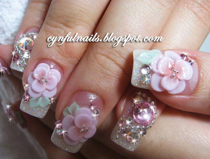 Best 25 3d acrylic nails ideas on pinterest 3d nail art 3d cynful nails acrylic nails acrylic nail art3d prinsesfo Choice Image