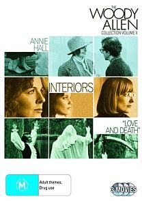 Allen, Woody - Woody Allen Collection - Volume 2 Three Woody Allen classics in one pack, 'Annie Hall', 'Interiors' & 'Love & Death'.
