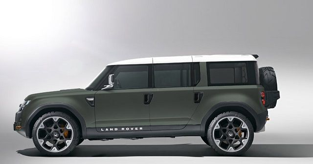 2016 Land Rover Defender - 110 side