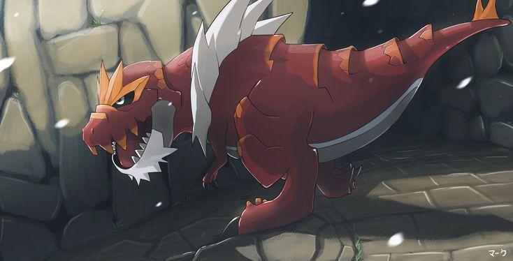 Pokemon: Tyrantrum by mark331.deviantart.com on @deviantART