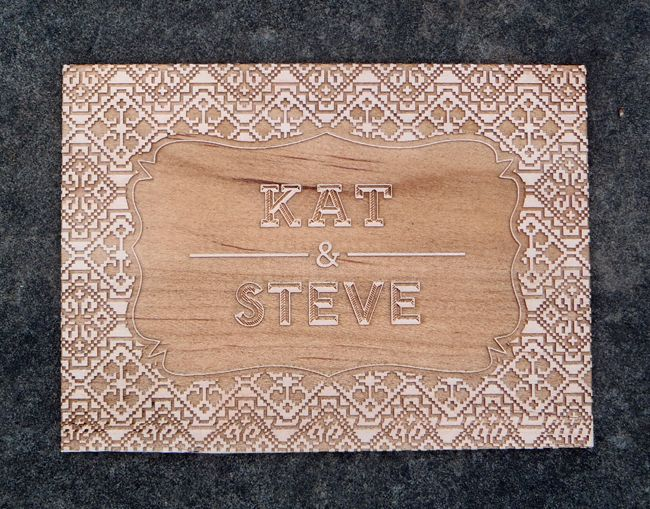 Wood Wedding Invitations And Gifts