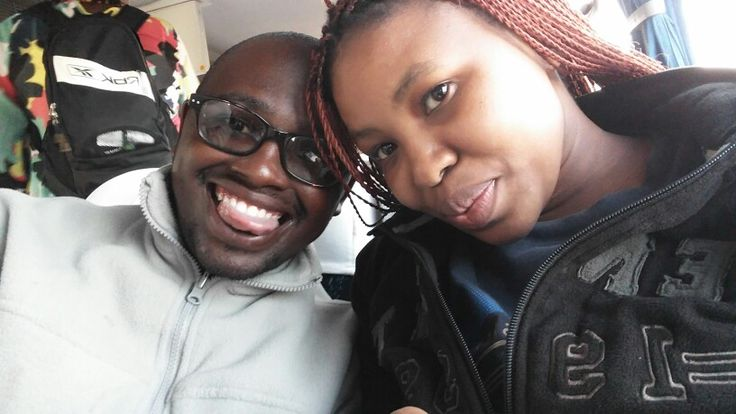 Me n Bae on our way to the mother city
