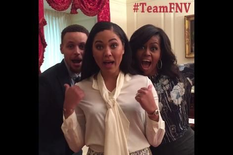 Stephen & Ayesha Curry Lip Sync Minions' 'Banana' Song with Michelle Obama | Bleacher Report