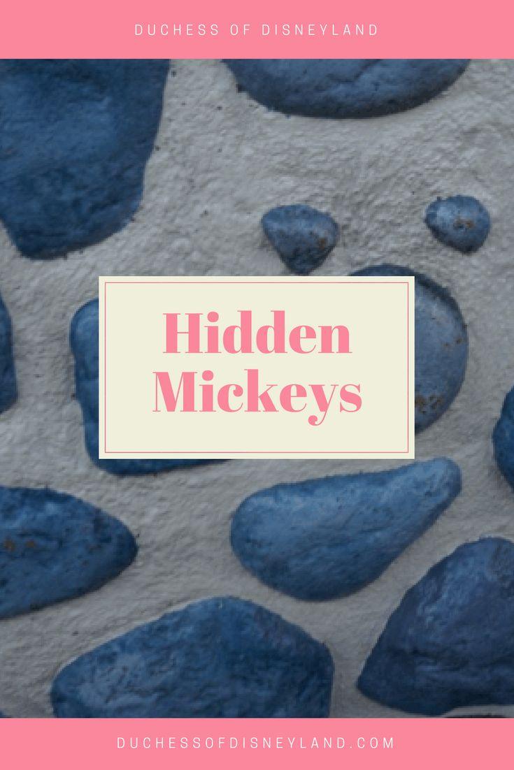 Hidden Mickeys, Disneyland