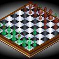 """Juego de ajedrez en 3D. Escoge """"Shallow"""" para computadores viejos y """"Deep"""" para computadores nuevos. Presiona click sobre la ficha que quieres mover y luego otro click sobre la posicion para moverla.  http://juegosdeajedrez21.blogspot.com.es/2015/08/ajedrez-3d_18.html"""
