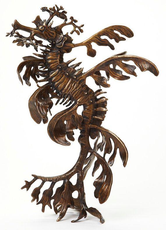 Bronze Leafy Sea Dragon kirkmcguire.com