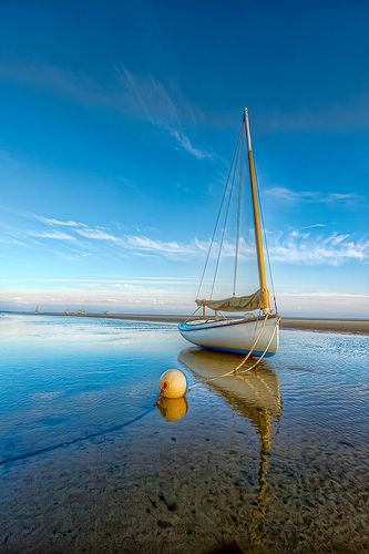 .Water Reflections, Sailboats, Brewster Flats, Beach, Travel, Places, Capes Cod, The Sea, Sailing Boats