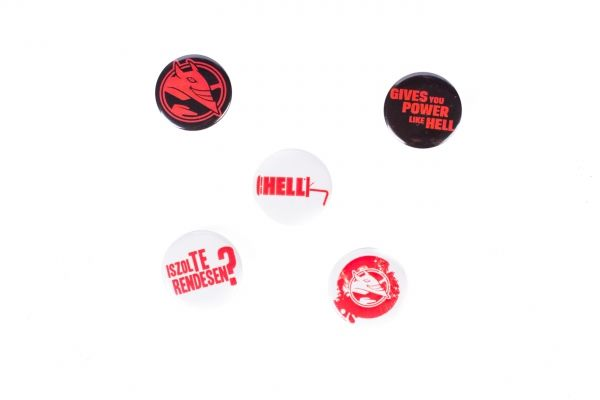 Hell Energy Pins