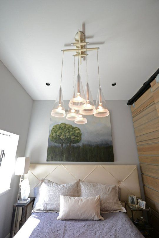 Fucsia Pendants by FlosHouse Tours, Lights Fixtures, Karen Micro, Apartments Therapy, Decor Bedrooms, Marines House, Barns Doors, Small Spaces, Micro Spaces