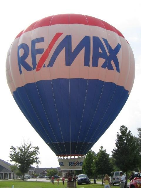 Hot Air Balloon at RE/MAX Southern Realty