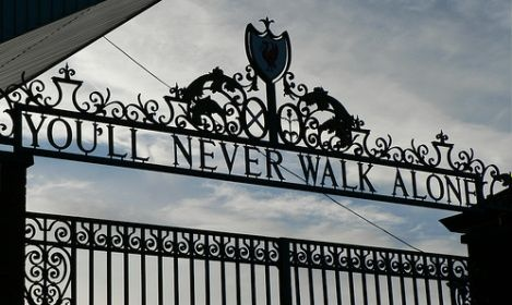 I wish this wasn't just a Liverpool motto. Wish it was for United but I love these words.