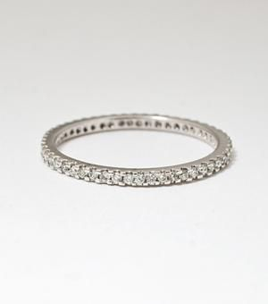Catbird::shop by category::JEWELRY::Wedding & Engagement::Eternity Band