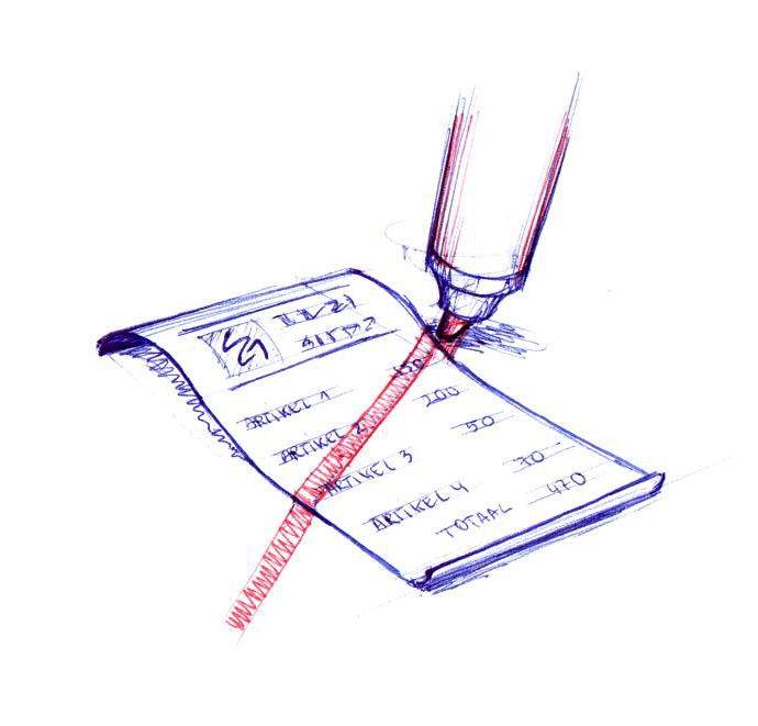 Streep door de rekening | Uitdrukkingen, Woordenschat, Taal