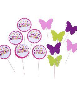 Doğum günü parti süslemeleri için Dekoratif Kürdan Kız Doğum Günü ürünümüzü online olarak uygun fiyatlar ile satın alabilirsiniz