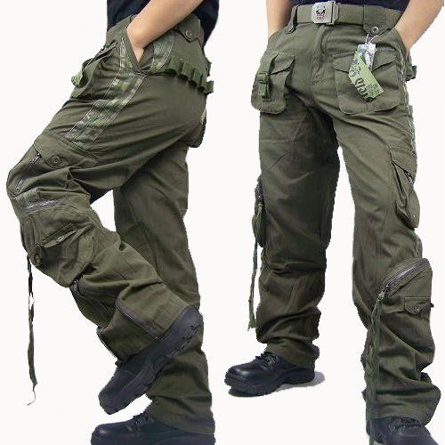 Wear-Resisting Camouflage Leisure Style Outdoor Military Men's Trousers