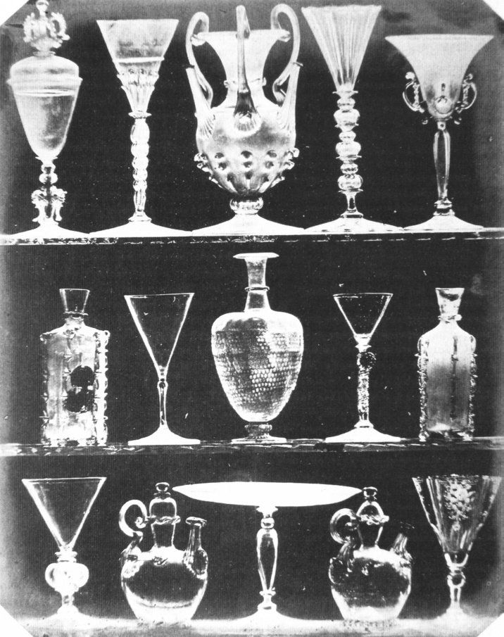 Objetos de cristal (1844), W.H.F - Talbot.