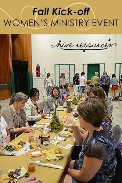 Easy ideas for your next fall-themed #WomensMinistry event {Hive Resources}