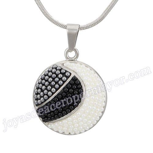 Material:Acero Inoxidable     Nombre: Acero inoxidable colgantes con perlas para dama por mayoreo     Talla: 30*35mm     Weight: 15g     Model No.: SSPT249   Color:Per Picture .