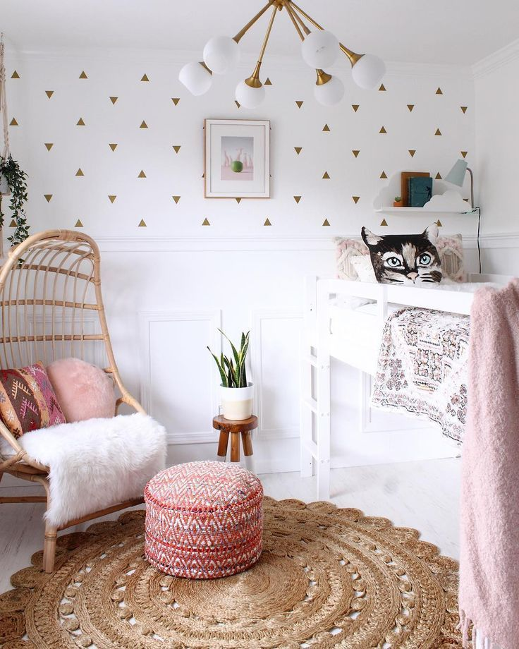 Mini Triangles Kids Rooms In 2019 Cute Room Decor