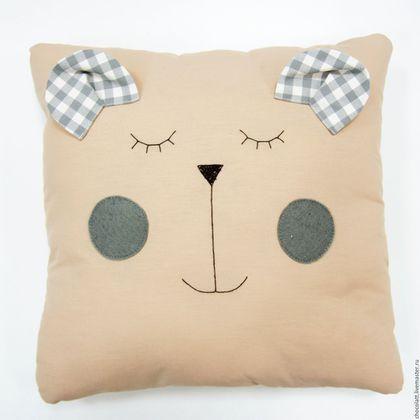 Купить Мишка Джон - комбинированный, бортики в кроватку, бортики, 2016 год, мишка, сплюшка, новорожденному, хлопок