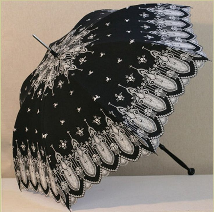 victorian parasols | Recovered parasol | Antique Victorian Parasols