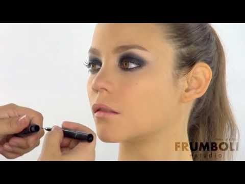 Smokey eyes www.bettinafrumboli.com.ar #tutorial #makeup #smokeyeyes