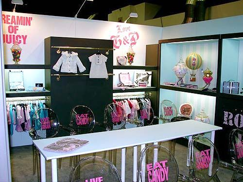 Juicy Baby Trade Show Booth Designed By Manny Stone