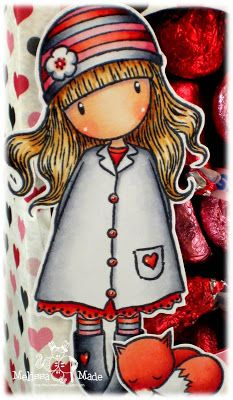 A Gorjuss Milk Carton with Treats!