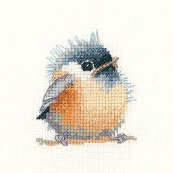 Chickadee Chick - Valerie Pfeiffer Cross Stitch