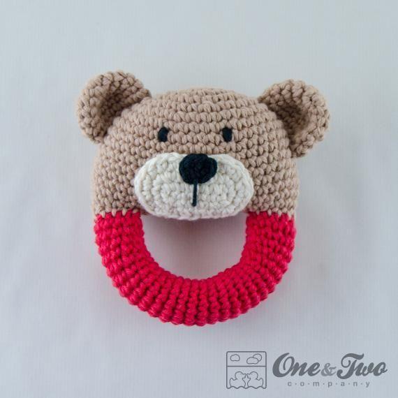Teddy Bear Rattle pattern