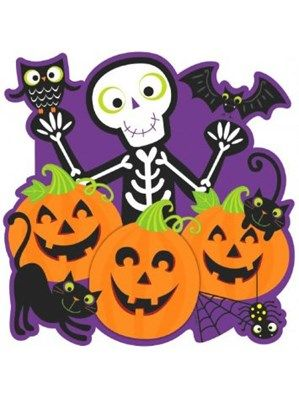 family friendly happy halloween cut out party decoration