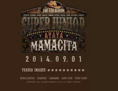 Super Junior #MAMACITA #AYAYA 7jib