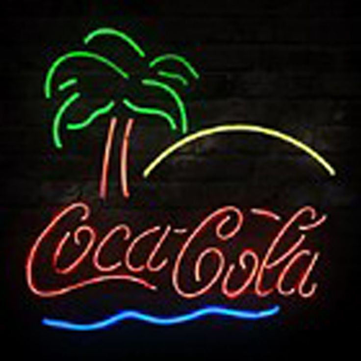 New Coca Cola Beach Coke Palm Beer Bar Neon Sign,Affordable and durable,Made in USA,if you want to get it ,please click the visit button or go to my website,you can get everything neon from us. based in CA USA, free shipping and 1 year warranty , 24/7 service