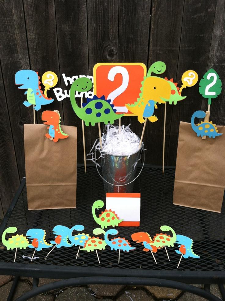 Dinosaur+Birthday+Party+Package+by+PoppopsPeanut+on+Etsy,+$124.50