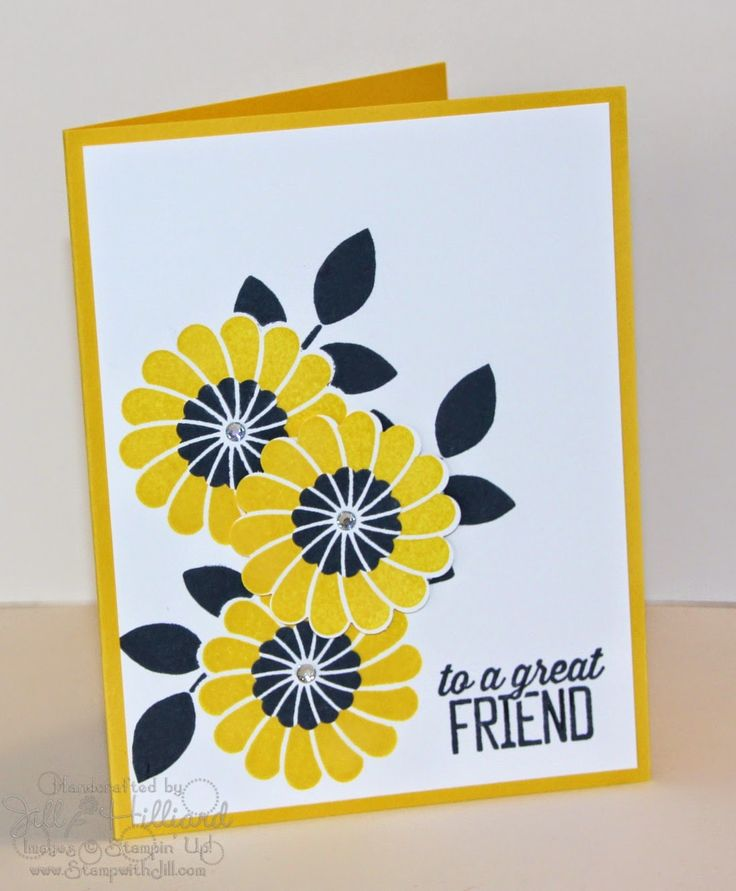 Jill's Card Creations: Day 4 Crazy About you!