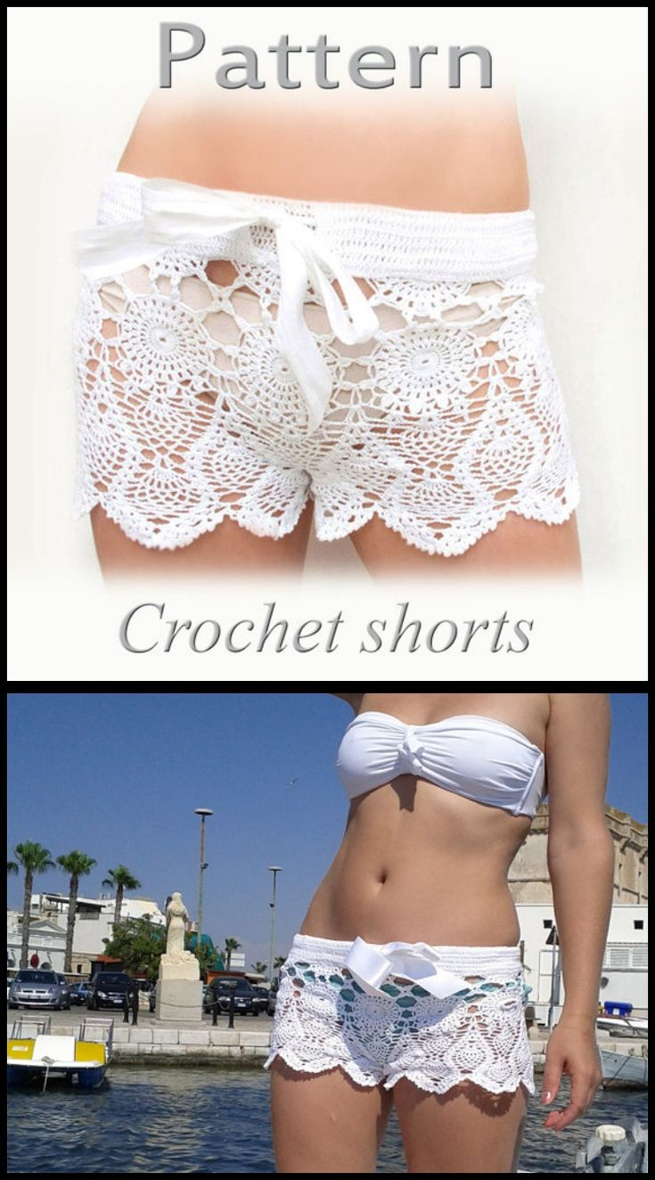 10+ Gorgeous Crochet Shorts Patterns in Ravishing and Stylish Ways - Page 2 of 2…
