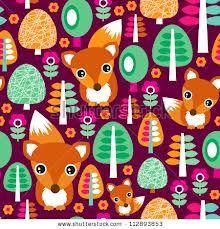 foxes free patterns - Buscar con Google