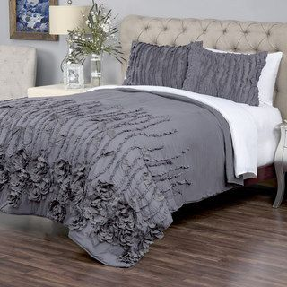 Shop for Kalyana Graphite Collection Quilt By Arden Loft. Get free shipping at Overstock.com - Your Online Fashion Bedding Outlet Store! Get 5% in rewards with Club O! - 17722284