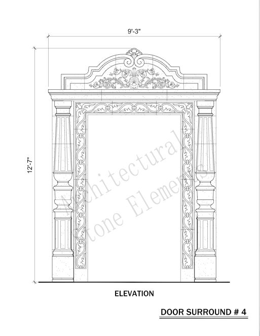 Door Surrounds | Portfolio | Architectural Stone Elements