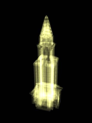 Hologram Building HD  http://itunes.apple.com/gb/app/hologram-building-hd/id372345483?mt=8