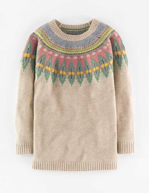 Fair Isle Sweater WV059 Sweaters at Boden