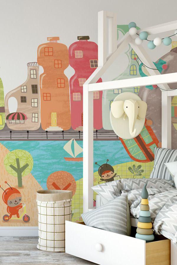 Best 25+ Wallpaper murals ideas on Pinterest | Wall murals bedroom, World map wall and World map ...