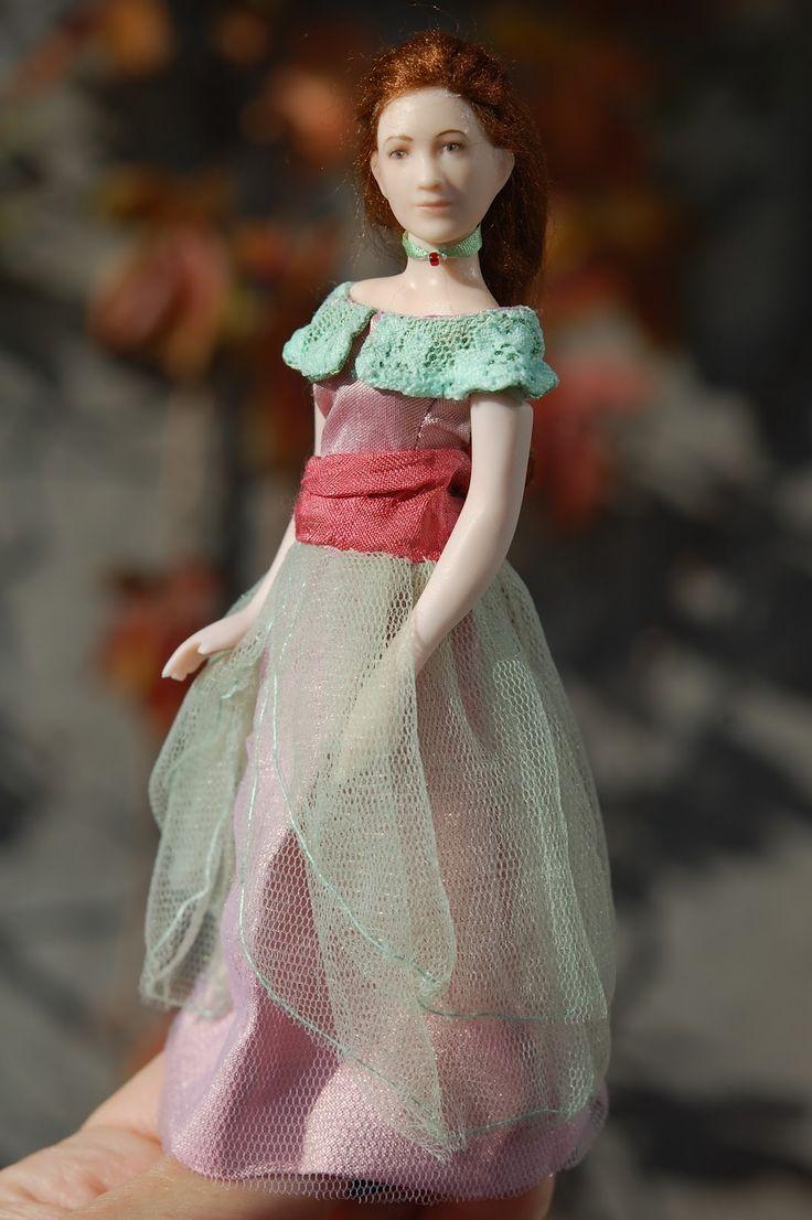 Tarun nuket - Miniature dolls by Taru Astikainen: Ginny
