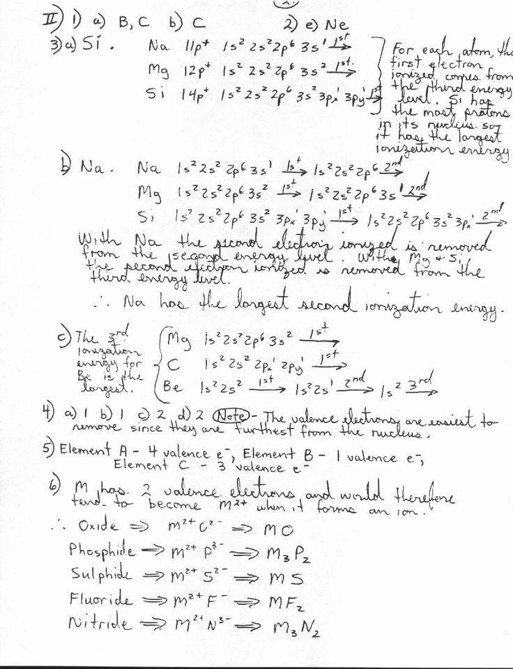 Atomic Structure Worksheet Answer Key Inspirational Unit 1 ...