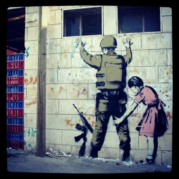 Banksy! No further description needed! #banksy #streetart #art #stencil #graffiti #uk #spraypaint #vandal #cool #followme #follow #me #like #comment #jj #instagood #instafun #picoftheday #pictureoftheday - @streetart101- #webstagram
