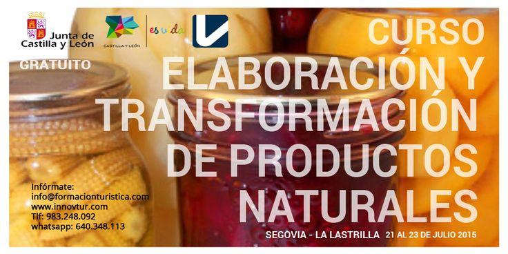 #TurismoRural. Curso Elaboración y transformación de productos naturales