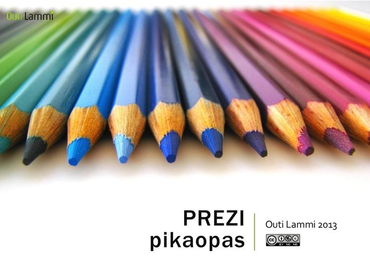 prezipikaopas by Outi  Lammi via Slideshare
