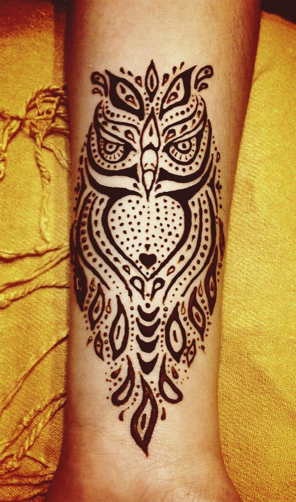 Animal Henna Tattoo Designs: 361 Best All Things Owl Images On Pinterest